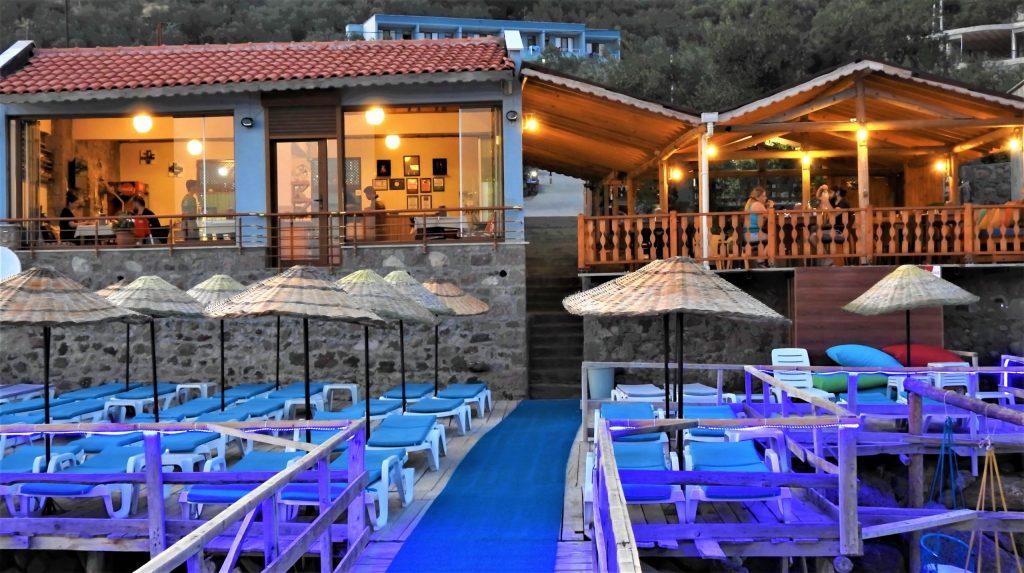 Assos Nazan Motel Restaurant Beach